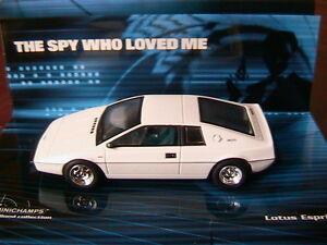 Lotus Esprit S1 James Bond 007 L'espion qui m'a aimé Minichamps 400135220 1/43