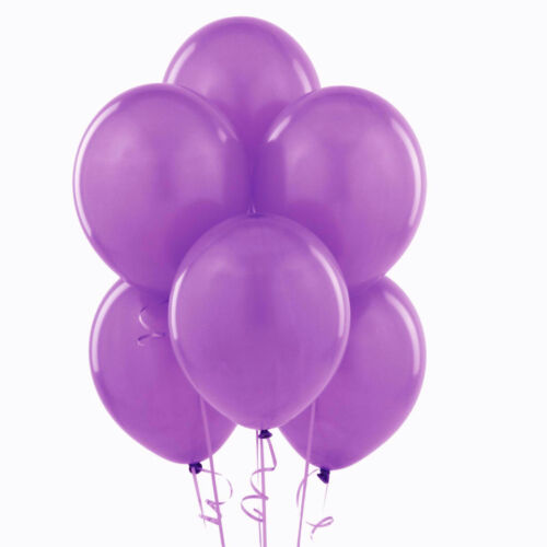 """WHOLESALE PURPLE COLOUR 100-5000 10/""""Latex High Quality Any Occasions Balloon PAR"""