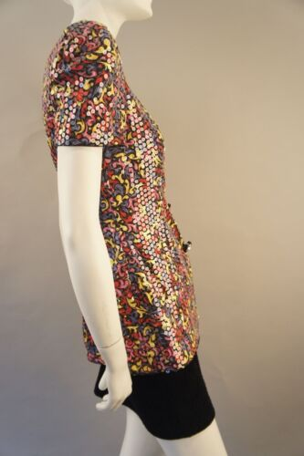 Jacket Multi Sequined Vintage color Shirt Lillie Rubin M wA6WZq4ax
