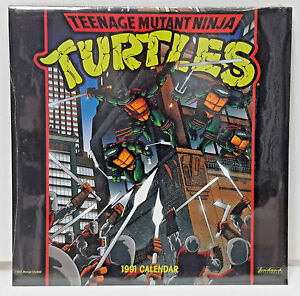 1991 2019 Teenage Mutant Ninja Turtles Wall Calendar 12 X 12