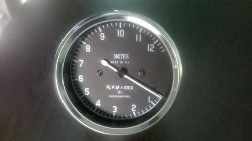 12000 rpm Smiths Tachometer 80 mm fitment M12x1 thread Replica 2 1