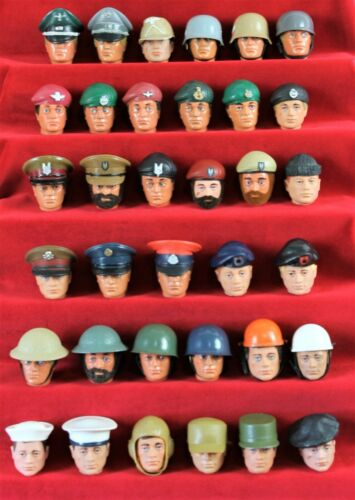 VINTAGE ACTION MAN VINTAGE RESTAURATO Vintage Royal Marine snow cap