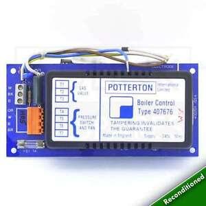 POTTERTON-NETAHEAT-ELECTRONIC-6-10-10-16-16-22-PCB-407676-WITH-1-YEAR-WARRANTY