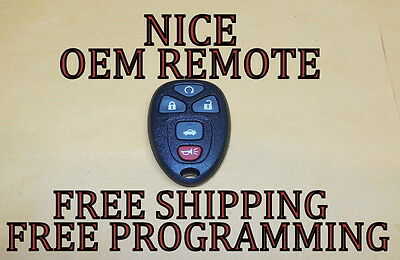 OEM GM CHEVY CADILLAC BUICK KEYLESS REMOTE FOB TRANSMITTER OUC60270 15912860