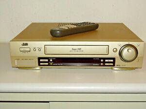 JVC HR-S7500 High-End S-VHS Videorecorder inkl. FB, 2 Jahre Garantie