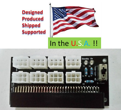 DPS-1200 1200FB PCIe Adapter 12V Antminer S5 S7 S9 BTC ETH ZEC Hobby HAM RC
