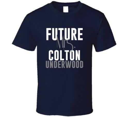Future Mrs Colton Underwood San Diego Football T Shirt