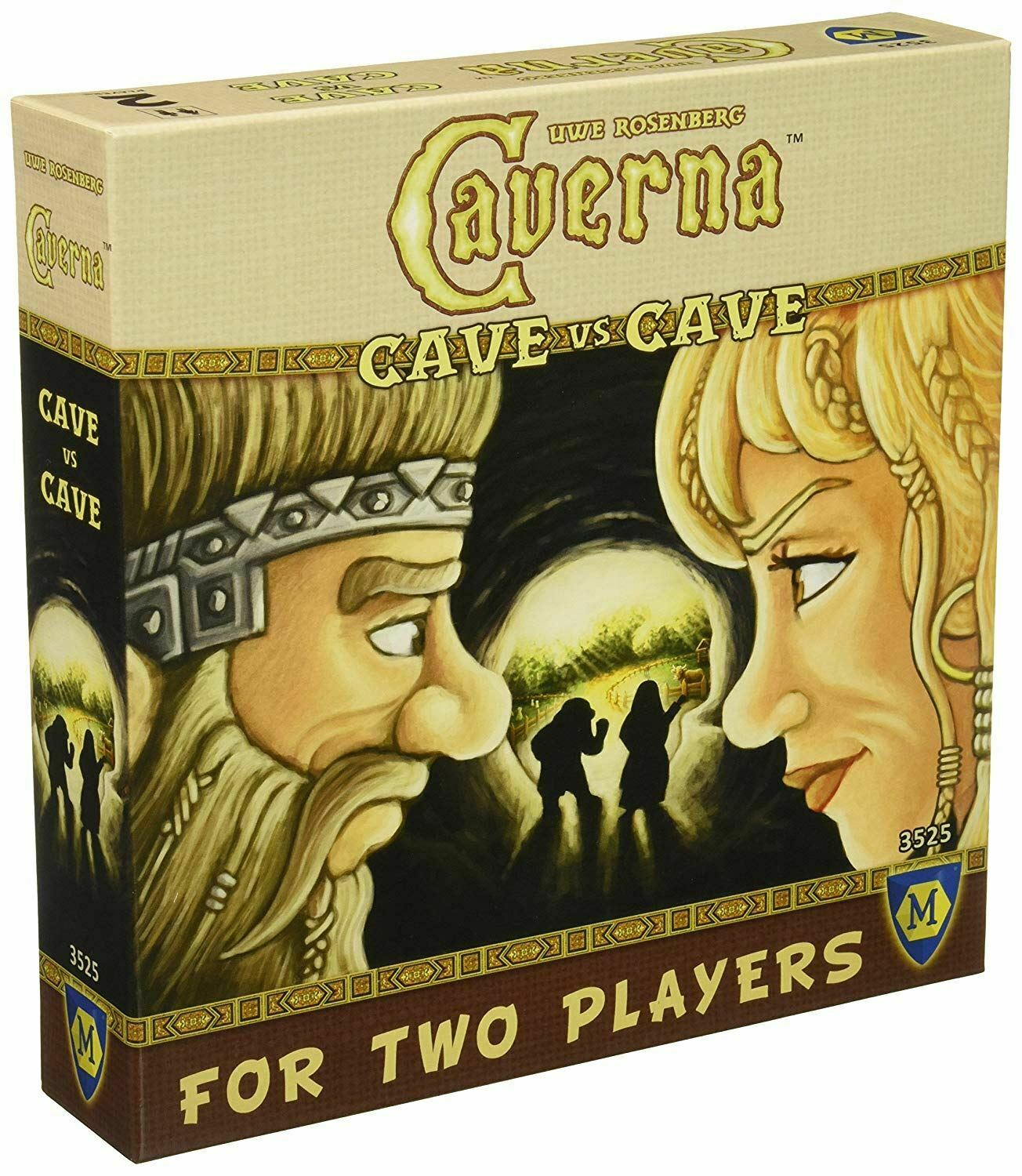 CAVERNA VS CAVE BOARD GAME