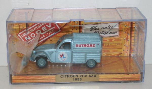 NOREV 1 43 SCALE - 1955 CITROEN 2CV AZU - BUTAGAZ