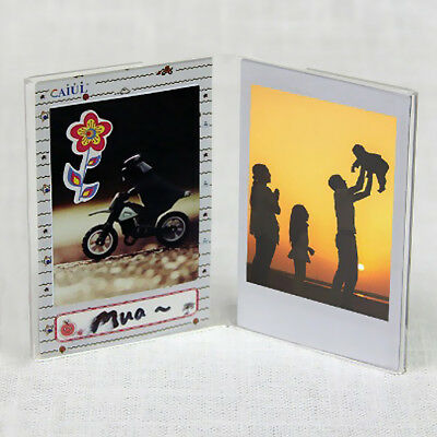 "3/"" Foto Marco Ajuste Para Fujifilm Instax Mini 9 8 8 7S película Postal Ticket Holder"