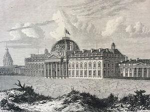 Paris-School-Military-Print-of-1856