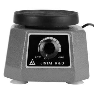 220V-100W-Runde-Vibrator-Shaker-Dental-Labor-Gipsruettler-Ruettler-fuer-Zahnarzt-hh