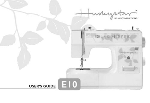 Husqvarna Viking Huskystar E10 User Owners Manual