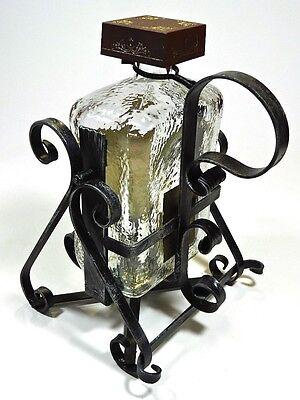 Vintage Amaretto di Saronno Bottle Liquor Tilt Pouring Stand 1.75 Liter