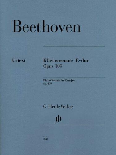 30 in E Major Op 109 Sheet Music NEW 051480362 Beethoven Piano Sonata No