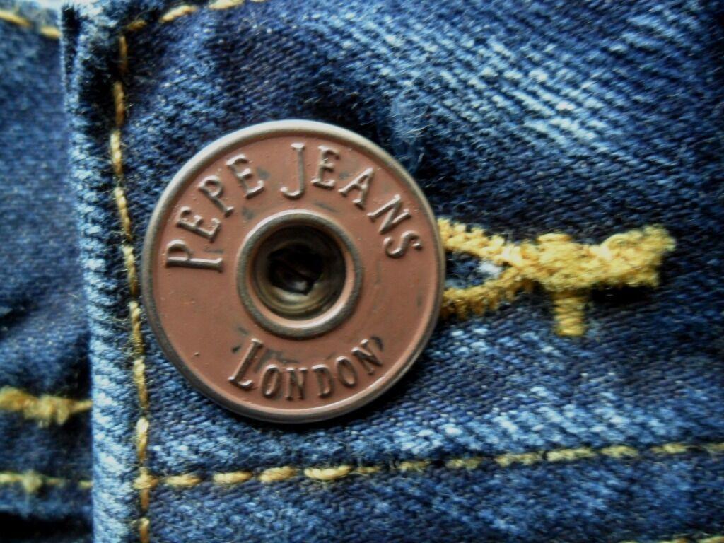 PEPE JEANS JEANS JEANS Men's Comfort Fit Straight Leg Denim Alban New Dark Blau 30  - 38  3e3e38