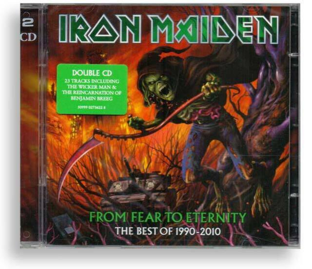 IRON MAIDEN - From Fear to Eternity  [2 CD's - NEU in Folie]
