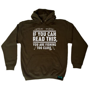 Fishing-Hoodie-Hoody-Funny-Novelty-hooded-Top-If-You-Can-Read-This-Youre-Fishi