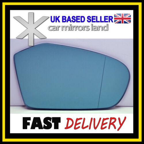 Aile droite côté conducteur en verre miroir MERCEDES A W169 04-08 asphériques bleu
