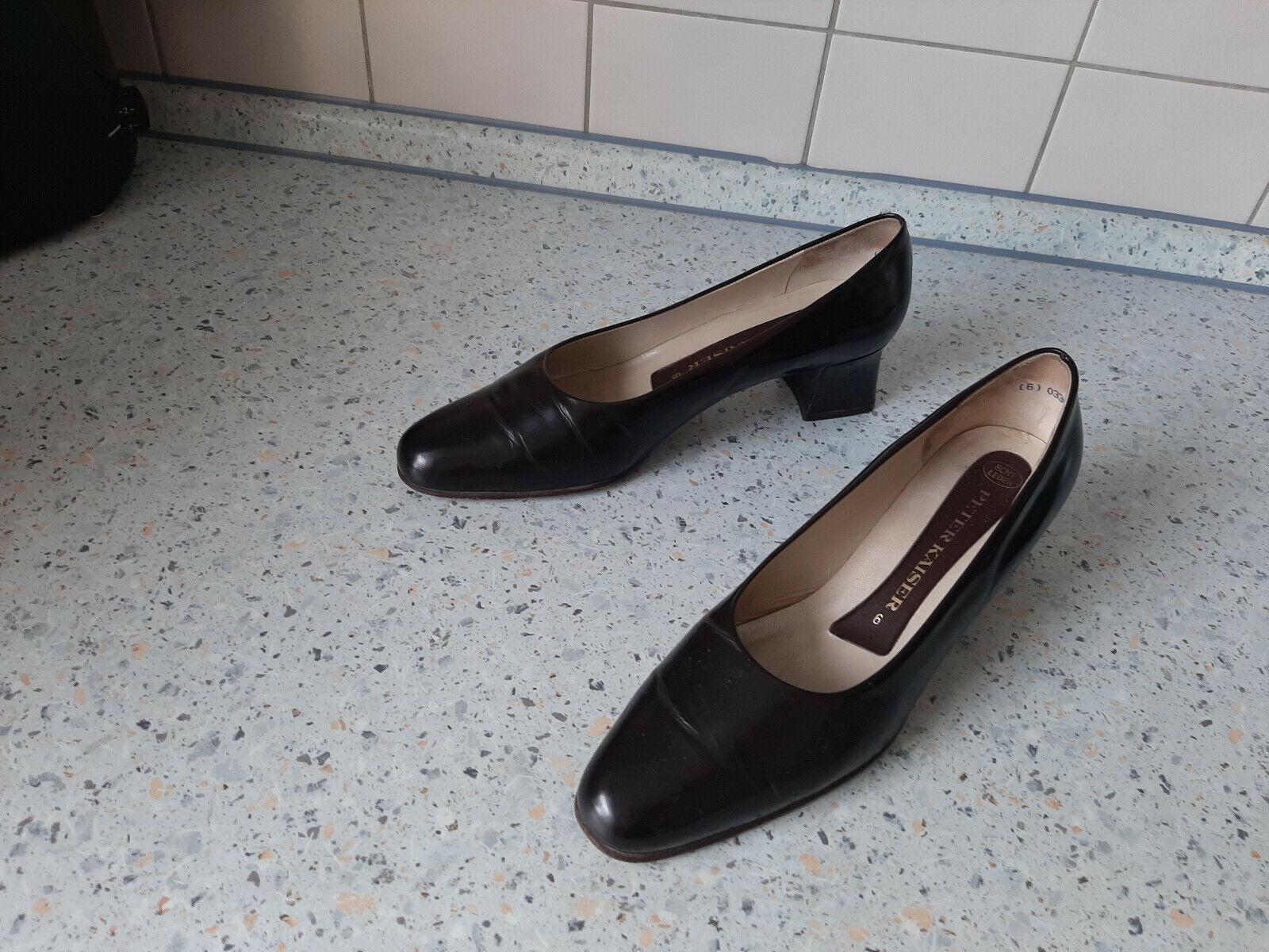 PETER KAISER Luxus Damen Schuhe Komplet Leder Gr. 6