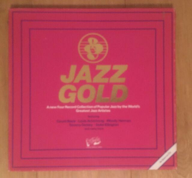 JAZZ GOLD 4x Vinyl LP Boxset EGS/4/5006 Woody Herman Terry Gibbs Kai Windig BEST