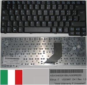 Teclado-Qwerty-Italiano-LG-E200-E300-E210-ED310-V020967-DK1-AEW34832816-Negro