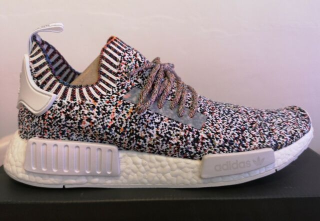 1baa86f5a56 Adidas NMD R1 NMD_R1 White Noise Colour Static UK 9 US 9.5 EU 43.3 BW1126  (2)