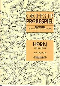 TEST PIECES FOR ORCHESTRAL AUDITIONS Horn