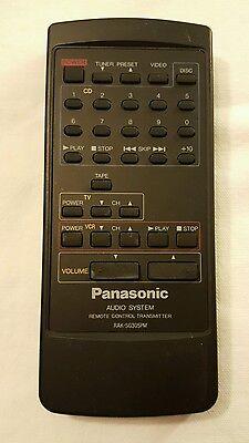 Panasonic Audio System Remote Control Transmitter RAK ...