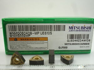 WNMG-332-MP-UE6105-MITSUBISHI-Carbide-Inserts-10pcs-1384