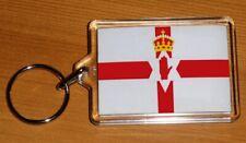 New Souvenirs Irish Keyring Shield Red Hand Northern Ireland IRL Gifts