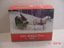 Breyer 2001 Jingles Christmas Pony In Original Box