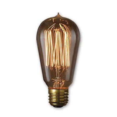 Edison Style squirrel Cage Filament Vintage Antique Light Bulb 40 Watt