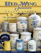 Red Wing Stoneware Encyclopedia Price Guide Book Crocks JUGS Jars Bowls Pitcher
