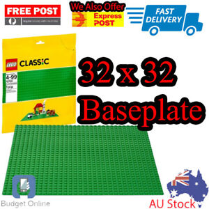 Lego-Classic-Building-Accessories-Green-Baseplate-base-plate-10700-32x32-studs