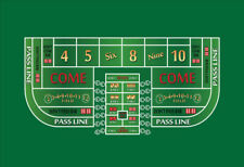 Craps practice table layout