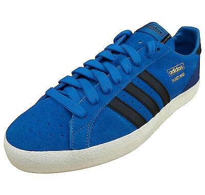 adidas Originals Men's Basket Profi OG Lo Vulcanised Trainers Shoes blue