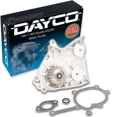 Engine Tune Up Accessor fs Dayco Water Pump for Mazda B2200 1987-1993 2.2L L4