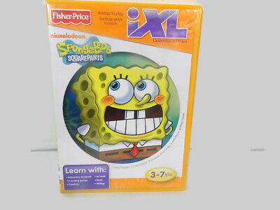 Fisher Price iXL Learning System Games Spongebob ...