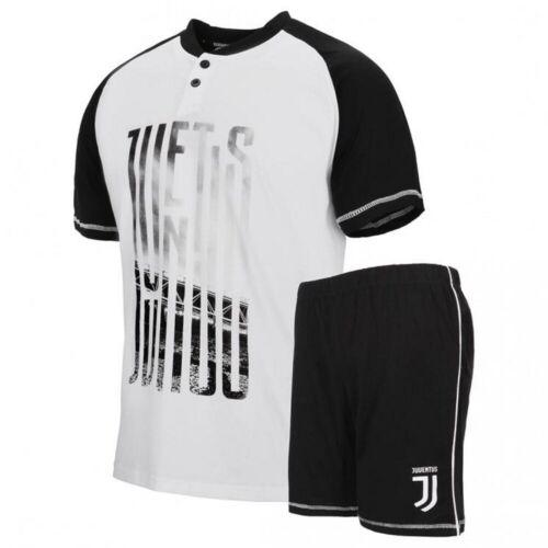 Pigiama Uomo Juventus Corto Abbigliamento Estivo Juve PS 30059