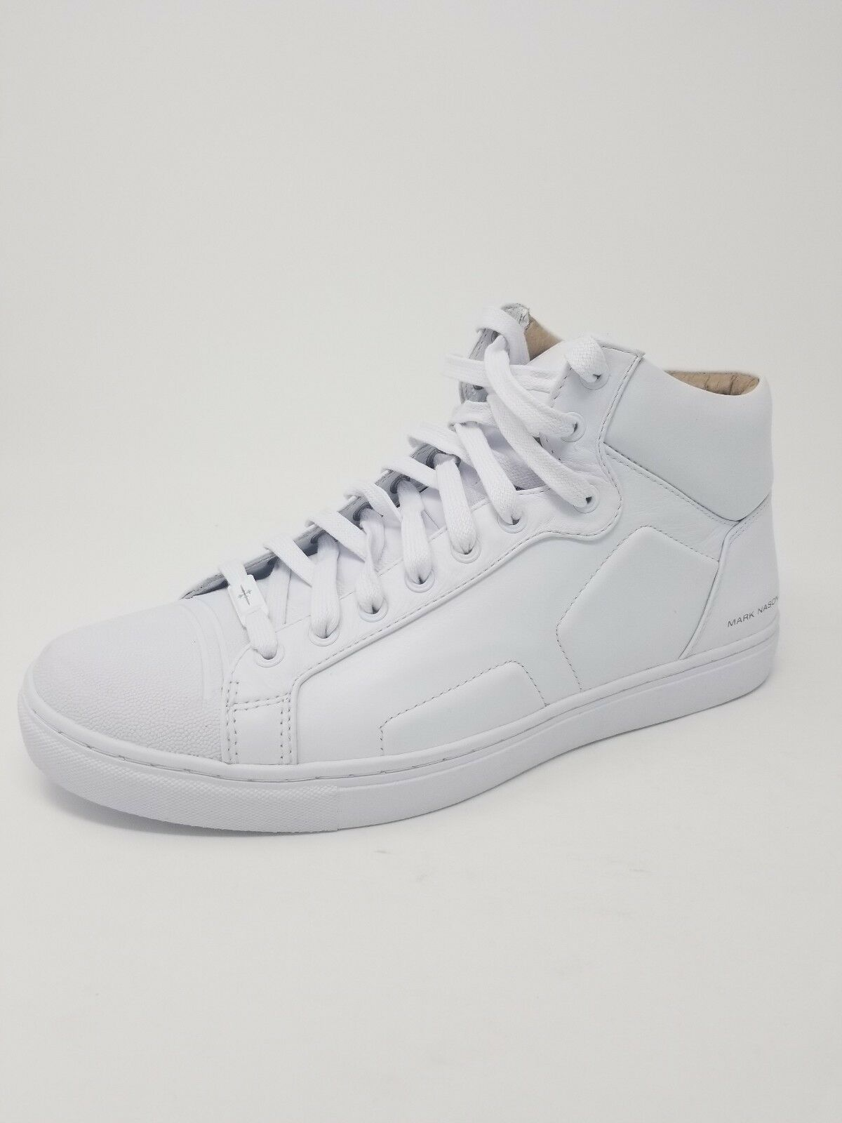Mark Nason Los Angeles Skechers Mens Spring High Top White Sneakers shoes Sz. 11