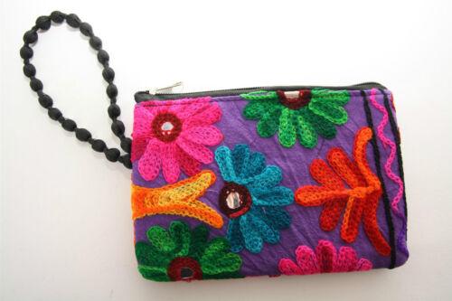 Tasche  Börse Handytasche Handgelenktasche Hippie Etui  Kosmetiktäschchen
