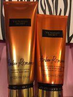 New Victoria's Secret Amber Romance  Fragrance Lotion Hand Body Cream