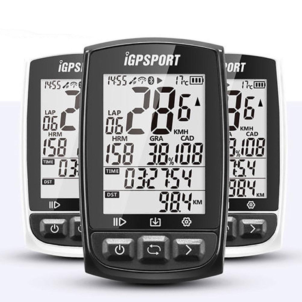 Igpsport Cyclisme Grand écran GPS Sans Fil Ordinateur ANT + Imperméable IPX7 IGS50