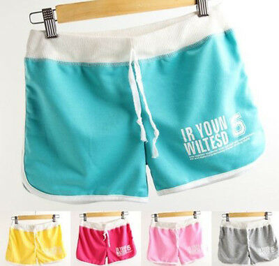 Women's Sexy Cotton Sports Shorts Casual Beach Running Slim Gym Yoga Hot Pants