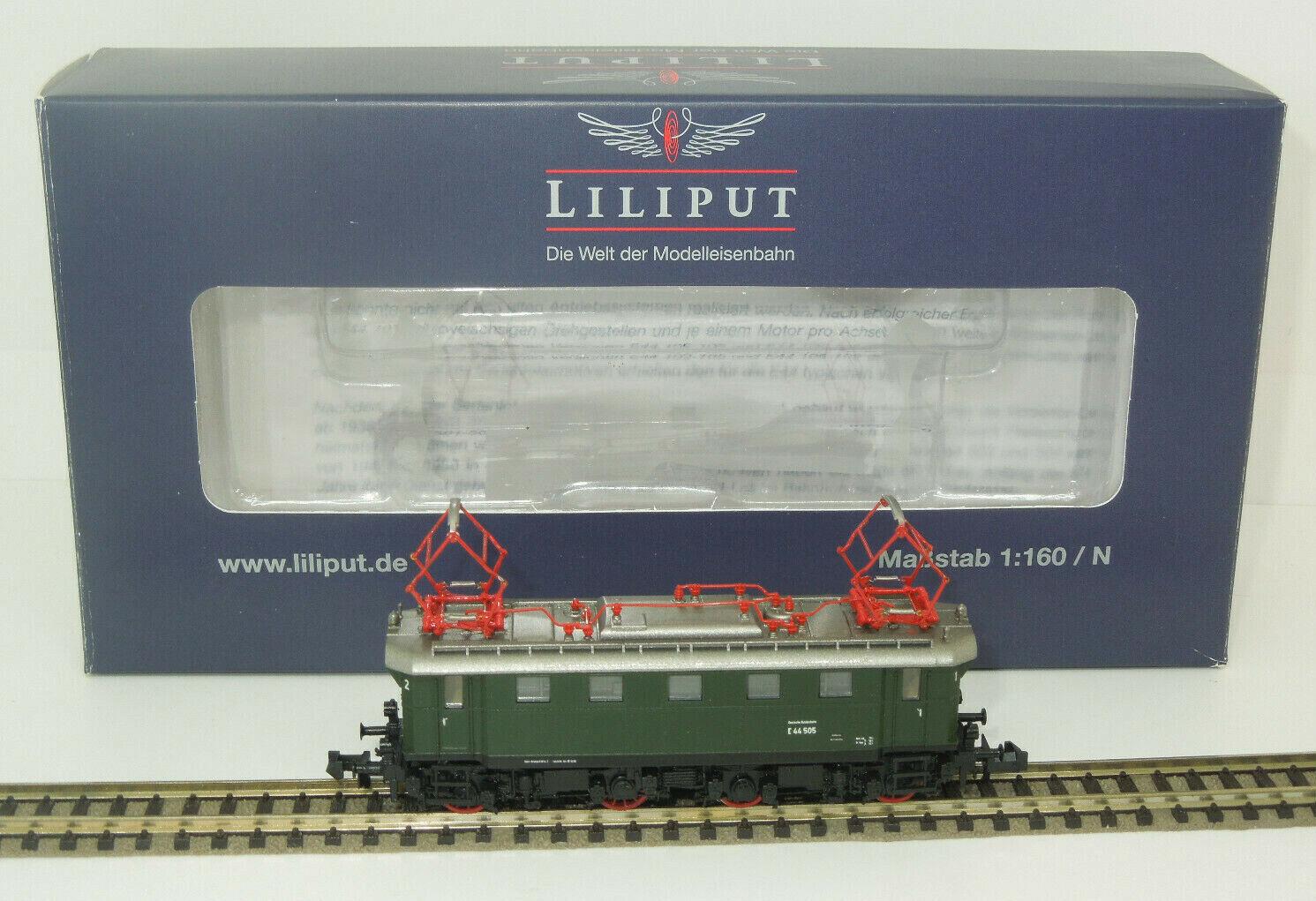 Liliput Spur N 162542 E-Lok E 44 505 der DB (Lo)