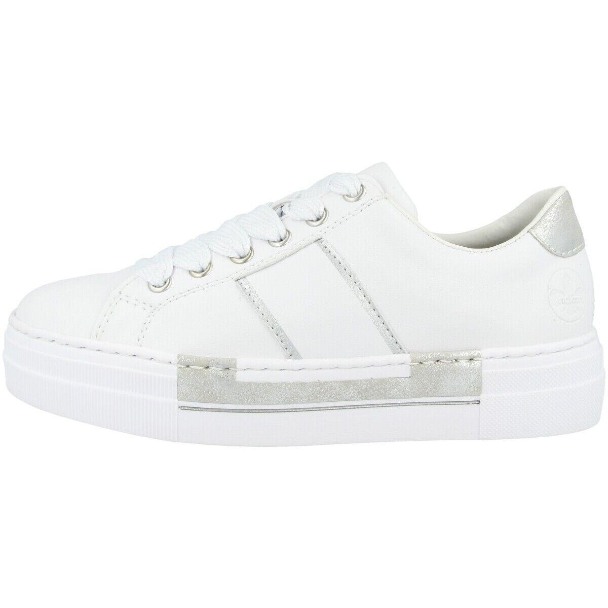 Rieker N4902-81 Schuhe damen Damen Turnschuhe Antistress Halbschuhe Schnürschuhe