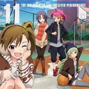 GAME-MUSIC-IDOLMASTER-MILLION-LIVE-THE-TER-PERFORMANCE-11-JAPAN-CD-Bonus-E00
