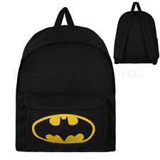 Batman Logo Backpack Rucksack Bag
