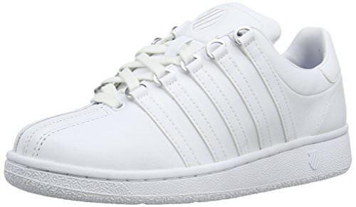 K-Swiss Damenschuhe Classic VN Lifestyle Sneaker, WEISS/WEISS, 10 M US
